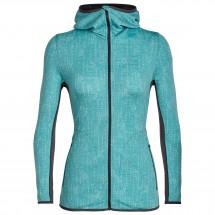 Icebreaker - Women's Away L/S Zip Hood Showers - Wool jacket