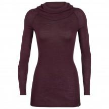 Icebreaker - Women's Luxe Rib Pullover Hoody - Merino trui