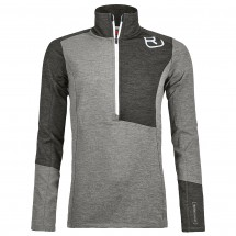 Ortovox - Women's Fleece Light Zip Neck - Merino sweatere