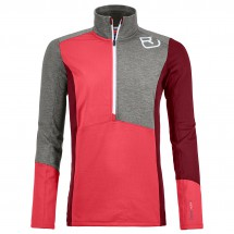 Ortovox - Women's Fleece Light Zip Neck - Merinopullover