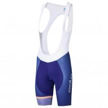 Odlo - Women's Tights Short Suspenders Galibier - Fietsbroek