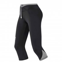 Odlo - Women's Hana Tights 3/4 - Juoksushortsit