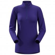 Arc'teryx - Women's Phase AR Zip Neck LS - Longsleeve