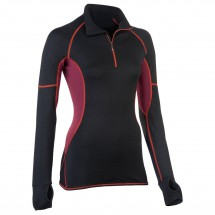 Engel Sports - Women's Lauf-Shirt Slim Fit mit RV