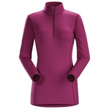 Arc'teryx - Women's Phase AR Zip Neck L/S - Synthetic base layer