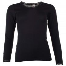 Engel - Women's Shirt L/S mit Spitze - Seidenunterwäsche