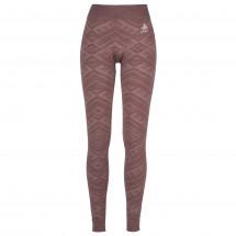 Odlo - Women's Suw Bottom Pant Natural + Kinship Warm - Tekokuitualusvaatteet