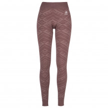 Odlo - Women's Suw Bottom Pant Natural + Kinship Warm - Kunstfaserunterwäsche