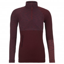 Ortovox - Women's Competition Long Sleeve Zip Neck - Merinounterwäsche