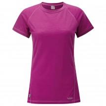 Rab - Women's MeCo 120 S/S Tee - Merino ondergoed