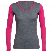 Icebreaker - Women's Oasis L/S V - Sous-vêtements en laine m