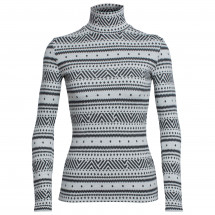 Icebreaker - Women's Vertex L/S Turtleneck Icon Fairisle
