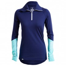 Mons Royale - Womens Checklist L/S 1/4 Zip