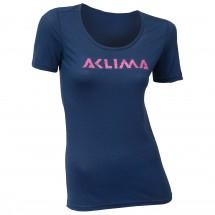 Aclima - Women's LW T-Shirt Logo - Merino base layer