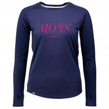 Mons Royale - Women's Rocker Raglan L/S Serif - Merinovilla-alusvaatteet