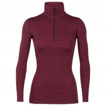 Icebreaker - Women's 250 Vertex L/S Half Zip Mountain Dash - Merinoundertøy