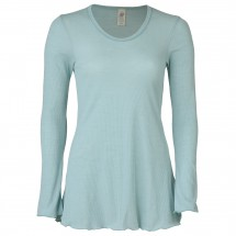 Engel - Women's Longshirt mit Rollsaum L/S - Merinovilla-alusvaatteet
