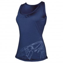 Icebreaker - Women's Superfine 150 Retreat Tank Butterfly