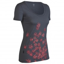 Icebreaker - Women's SF150 SS Tech Scoop Scatter - T-Shirt