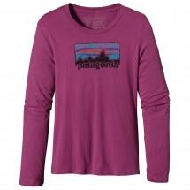Patagonia - Women's L/S Vintage '73 Logo T-Shirt - Longsleev
