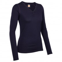 Icebreaker - Women's Oasis LS Henley - Manches longues