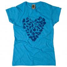 Moon Climbing - Women's Heart Holds Tee - T-Shirt