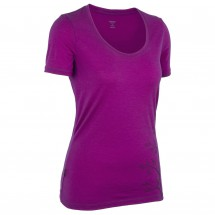 Icebreaker - Women's Tech SS Scoop Flax - T-paidat