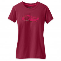 Outdoor Research - Women's Wild At Heart Tee - T-paidat