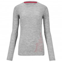 Ortovox - Women's Merino 185 Long Sleeve Print - Long-sleeve