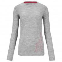 Ortovox - Women's Merino 185 Long Sleeve Print - Longsleeve