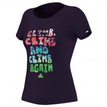 Adidas - Women's ED Felsblock Tee - T-paidat