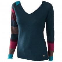 Smartwool - Women's Scrolling Stripe V-Neck - Long-sleeve
