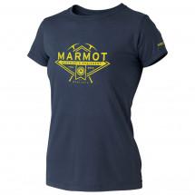Marmot - Women's Ice Axe Tee SS - T-paidat