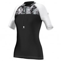 adidas - Women's Trail 1/2 Zip Tee - Running shirt
