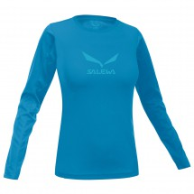 Salewa - Women's Solidlogo Co L/S Tee - Long-sleeve