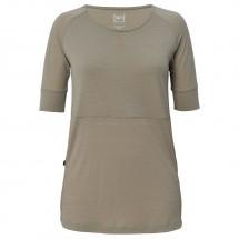 SuperNatural - Women's Key Hole Top Pointelle 140 - T-Shirt