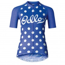 Odlo - Women's Stand-Up Collar S/S Full Zip Ride - Radtrikot
