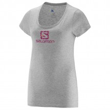 Salomon - Women's No Strings SS Logo Tee - T-paidat