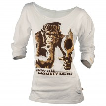 Nihil - Women's Monkey Shot Tee - Long-sleeve