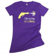 Blue Ice - Women's T-Shirt 02 Go Climbing - T-shirt