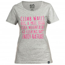 So Solid - Women's Enjoy Nature T-Shirt