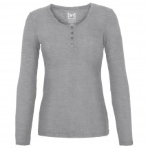SuperNatural - Women's Button Henley Rib - Yogashirt