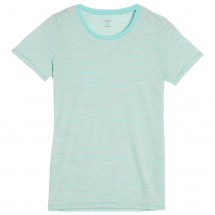 Icebreaker - Women's Tech Lite S/S Crewe Stripe - T-shirt