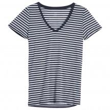 Icebreaker - Women's Tech Lite S/S V Stripe - T-paidat