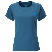 Moon Climbing - Women's Crag Logo Tech Tee - T-paidat