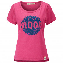 Moon Climbing - Women's Leaf Graphic Tee - T-shirt