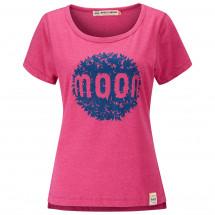 Moon Climbing - Women's Leaf Graphic Tee - T-shirt