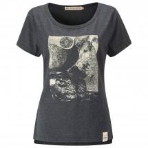 Moon Climbing - Women's Mother Cap Graphic Tee - T-shirt