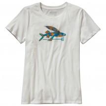 Patagonia - Women's Isle Wild Flying Fish Cotton Crew T