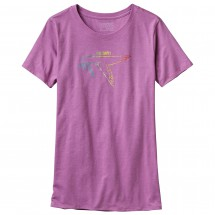 Patagonia - Women's Live Simply Dove Cotton/Poly Crew T